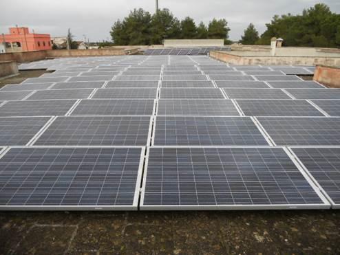 impianto fotovoltaico a miggiano - lecce