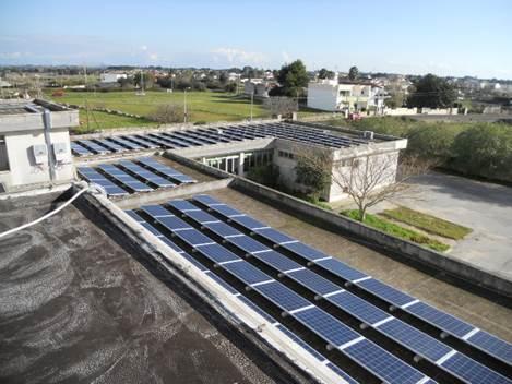 impianti fotovoltaici spongano - lecce